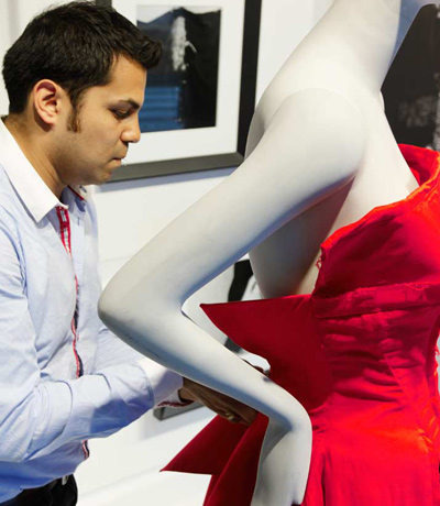 The Making of the Ralph Pucci Windows at Saks Fifth Avenue NYC for 2011