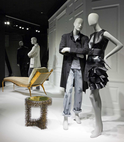 The RALPH PUCCI windows at Saks Fifth Avenue NYC ICFF 2011