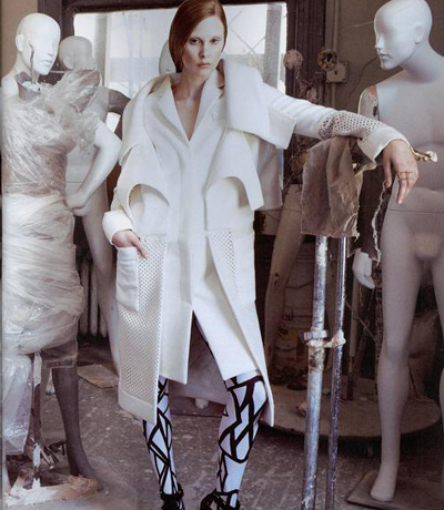 Fashion Shoot In The Pucci Mannequin Sculpture Studio & Factory